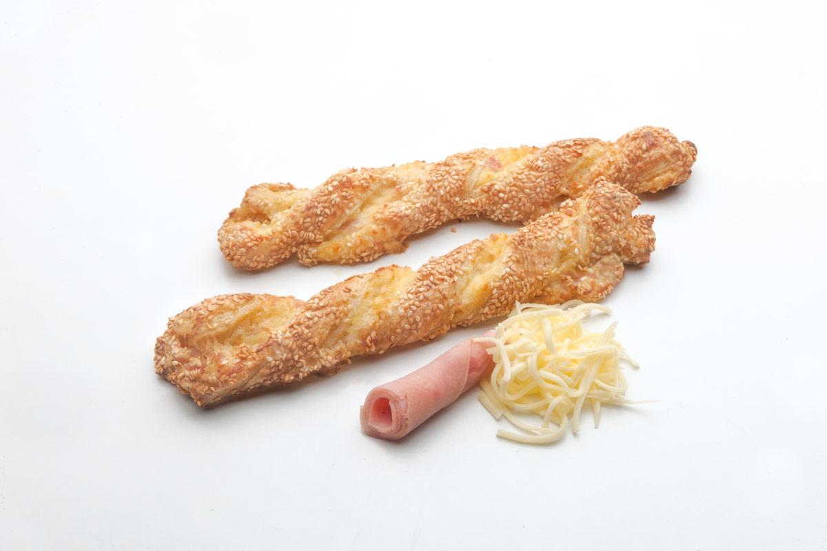 κρουασίνια ζαμπόν τυρί