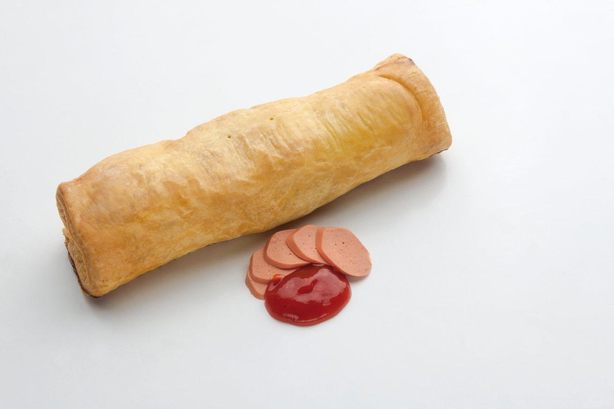 Λουκανικόπιτα σάλτσα