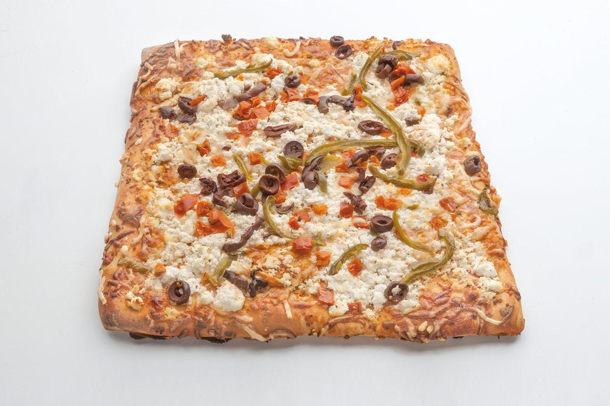 Πίτσα Μεσογειακή τεσσάρα