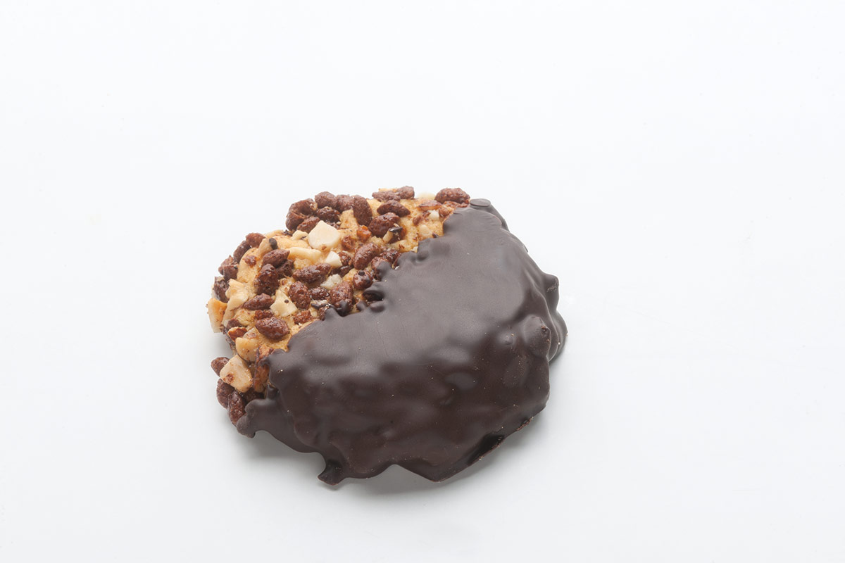 Choco pops αμύγδαλο βουτηγμένο